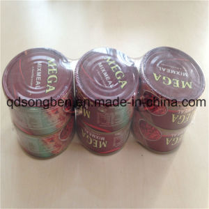 Milk Tea Shrink Packing Machine with Feeder pictures & photos