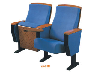 Good Quality Wood Office Furniture Cofference Chair Seat with Tablet (YA-01D) pictures & photos