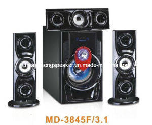 Big Power 3.1 Home Theater Speaker with USB/SD/Mic/FM (MD-3845F)