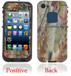 Camouflage Waterproof Cover Case for iPhone5S pictures & photos