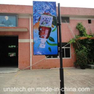 Flex Solar LED Outdoor Lamp Pole Ads Banner Light Box pictures & photos