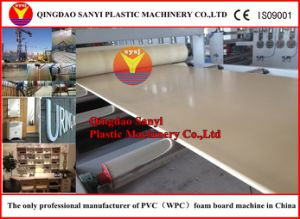 Plastic Machine-WPC Foam Board Extrusion Line pictures & photos