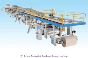 Machines - 1400mm-2200mm 5 Ply Corrugated Paperboard Production Line pictures & photos