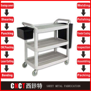 Cutting of Metal (Metal fabrication) pictures & photos