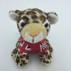 Custom Baby Toy Soft Jungle Animal Stuffed Leopard Plush Toy