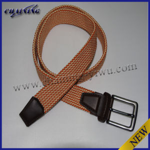 Double Layer Woven Cotton Braided Belt