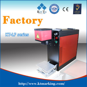 Portable Fiber Laser Marking Machine for Pet Nameplate pictures & photos
