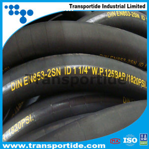 Super Flexible High Pressure Hose/ Hydraulic Rubber Hose/ Oil Hose pictures & photos