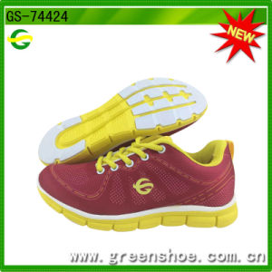 Hot Selling Women Sport Running Shoes (GS-74424) pictures & photos
