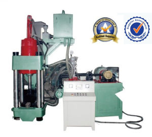 Hydraulic Aluminum Briquetting Machine CE (Y83-1800) pictures & photos
