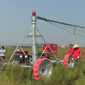 Irrigation Machinery of Rainfine Drivable Mobile Pivot