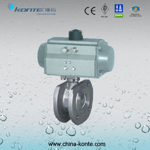 Pneumatic Thin-Type Ball Valve pictures & photos