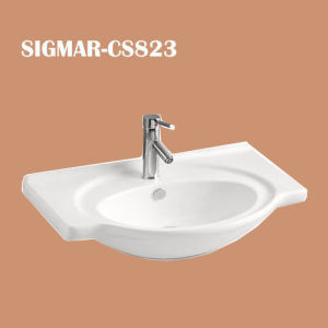 Bathroom Sanitary Ware Ceramic Pedestal Basin
