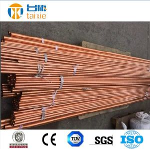 DIN 2.009 C11000 C10200 Red Copper Pipe for Oil Pipeline pictures & photos