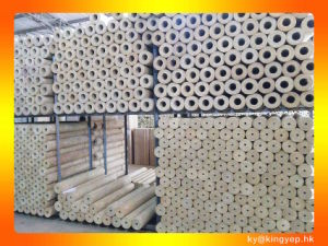 Rockwool Pipe with Aluminum Foil pictures & photos