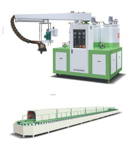 Polyurethane Shoe Making Pouring Machine (JG-802)