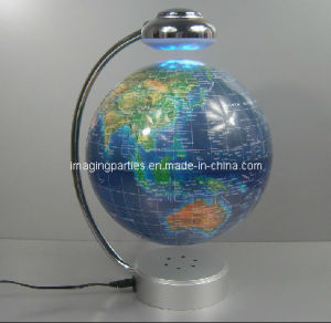 LED Magnetic Revolving Globe