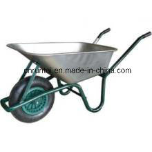 Hot Sell Galvanized Tray Durable Use Wheelbarrow (WB6414T) pictures & photos