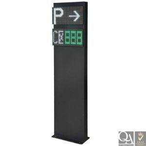 Wireless Parking Lot Detector for Outdoor Parking Guidance System