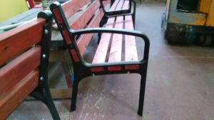 OEM Metal Bench Legs with Iron Casting Garden Leg pictures & photos
