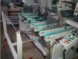 Automatic Corrugating Paperboard Making Folder Gluer Machine pictures & photos