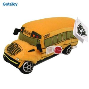 High Quality Custom Plush School Bus Stuffed Soft Toy pictures & photos