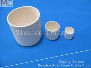 Ivory High Temperature Resistant Alumina Crucible and Alumina Boat pictures & photos