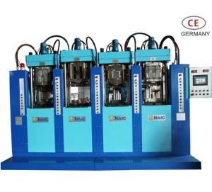 Tr/TPU Injection Machine (four stations and two guns) (HC-T0402-D)