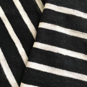 Linen Stripe Jersey Fabric (QF14-1546-SS.) pictures & photos