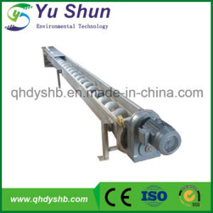Flexible Screw Conveyor Used in Sludge Dewatering Process pictures & photos
