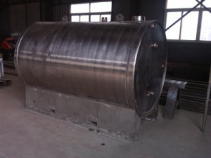 Steel Tank for Water and Drinking Water Site Bowser