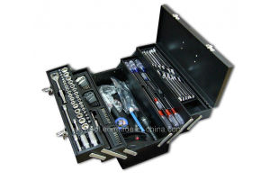 Hot Sale-123PCS Professional Complete Hand Tool Kit in Iron Box pictures & photos