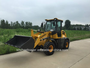 Multi-Function Mini Dumper Tractor Front End Wheel Loader with Hydraulic Pallet Forks pictures & photos