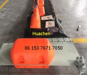 Track and Rise System Float Rubber Oil Booms pictures & photos