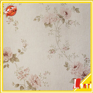 European Classic Flower Style Paper Back Material Wall Covering Wallpaper pictures & photos
