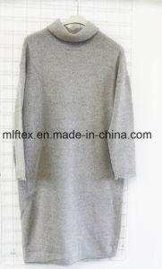 Turtleneck Velvet Long Sleeve Sweater for Women pictures & photos