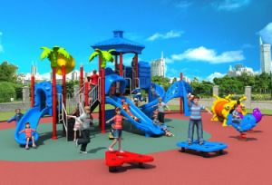 Factory Price Hot Selling Kindergarten Kids Outdoor Playground Plastic Slides pictures & photos