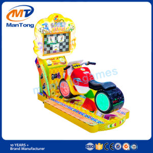 Kids Moto Kiddie Ride Fiberglass LCD Screen 3D Video Game Equipment Coin Operated Simulator Racing Game Machine pictures & photos
