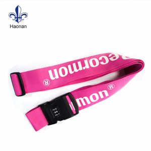 2017 Hot Sale Eco-Friendly Ployester Luggage Belt Strap pictures & photos