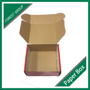 Cheap Folded Custom Printed Cardboard Shipping Box pictures & photos