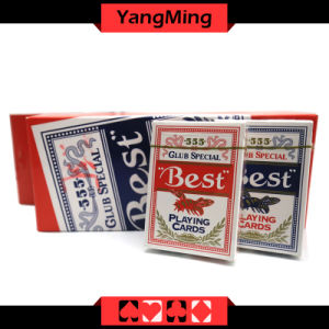 Best Bee 555 Casino Poker Dedicated Playing Cards for Texas Holdem Baccarat Gambling Games (YM-PC09) pictures & photos