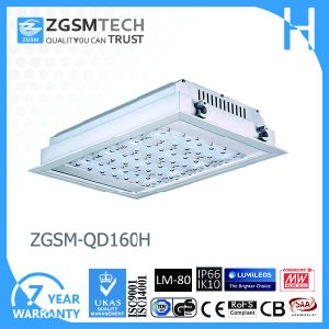 160W Surface Mounted Canopy LED Light Gas Station pictures & photos