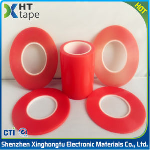 Clear Strong Waterproof Double Sided Pet Tape Red Pet Adhesive Tape pictures & photos