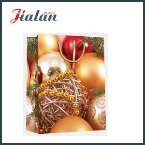 Promotion 128GSM Coated Paper Printed Christmas Gift Packing Shopping Bags pictures & photos