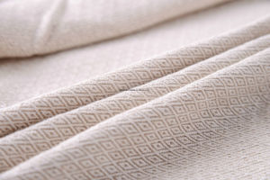 Gemotrical Patern 100% Polyester Linen Look Sofa Fabric pictures & photos