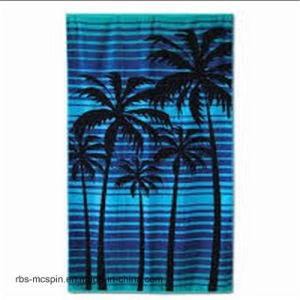 100% Cotton Competitive Price Velour Bath Towel Beach Towel pictures & photos