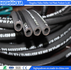 Industria Rubber High Pressure Cloth / Smooth Surface Hydraulic Hose pictures & photos