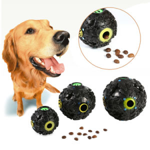 Hot Sound Leakage Food Ball Dog Toy Pet Dispenser Squeaky Giggle Quack Sound Training Toy Chew Ball pictures & photos
