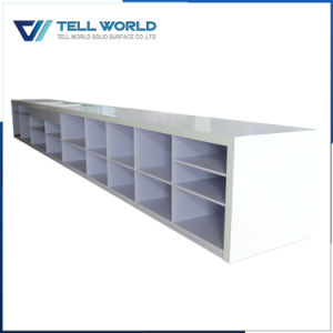 Hot Style Acrylic Solid Surface Hotel Long Bar Counter pictures & photos