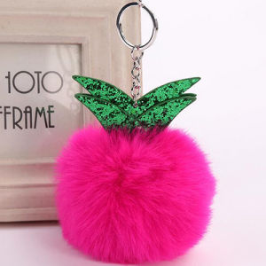 Hot Fashion Fur Ball Shaped Accessories Popular Pompom Handbags Decoration for Girls FT054 pictures & photos